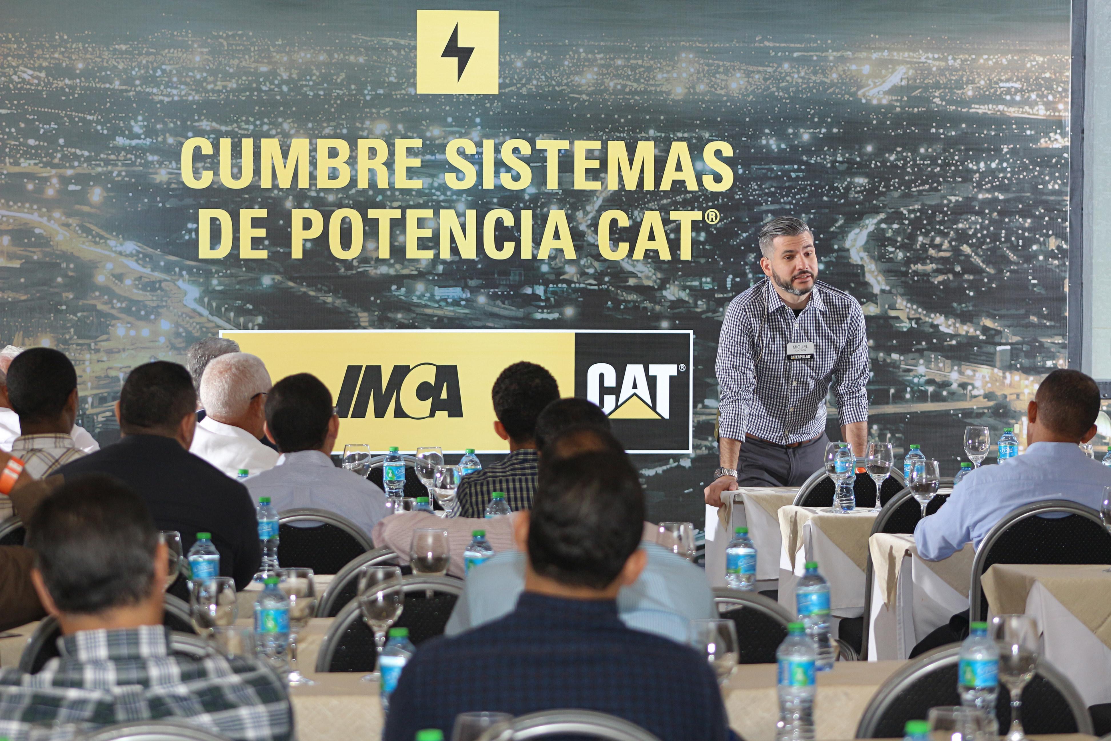 IMCA presenta novedades en Sistemas de Potencia Cat®